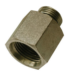 Apache  Steel  Hydraulic Adapter  1/2 in. Dia. x 5/8 in. Dia. 1 pk