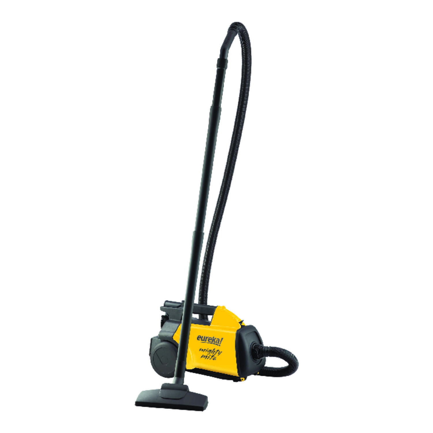 Eureka  Mighty Mite  Bagged  Canister Vacuum  12 amps HEPA  Yellow