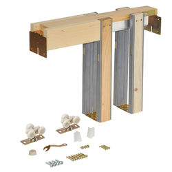 Johnson Hardware  Unfinished  Aluminum  Pocket Door Frame Kit  1 pk