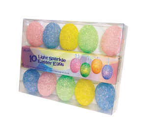 Sienna  Easter Egg  Assorted  String Light Set  7.5 ft.