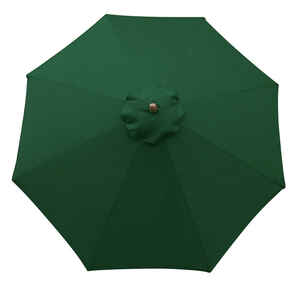 Sunline  9 ft. Green  Market Umbrella