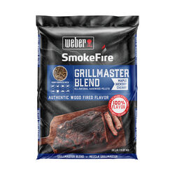 Weber  SmokeFire Grill Master Blend  Cherry/Hickory/Maple  Hardwood Pellets  20 lb.