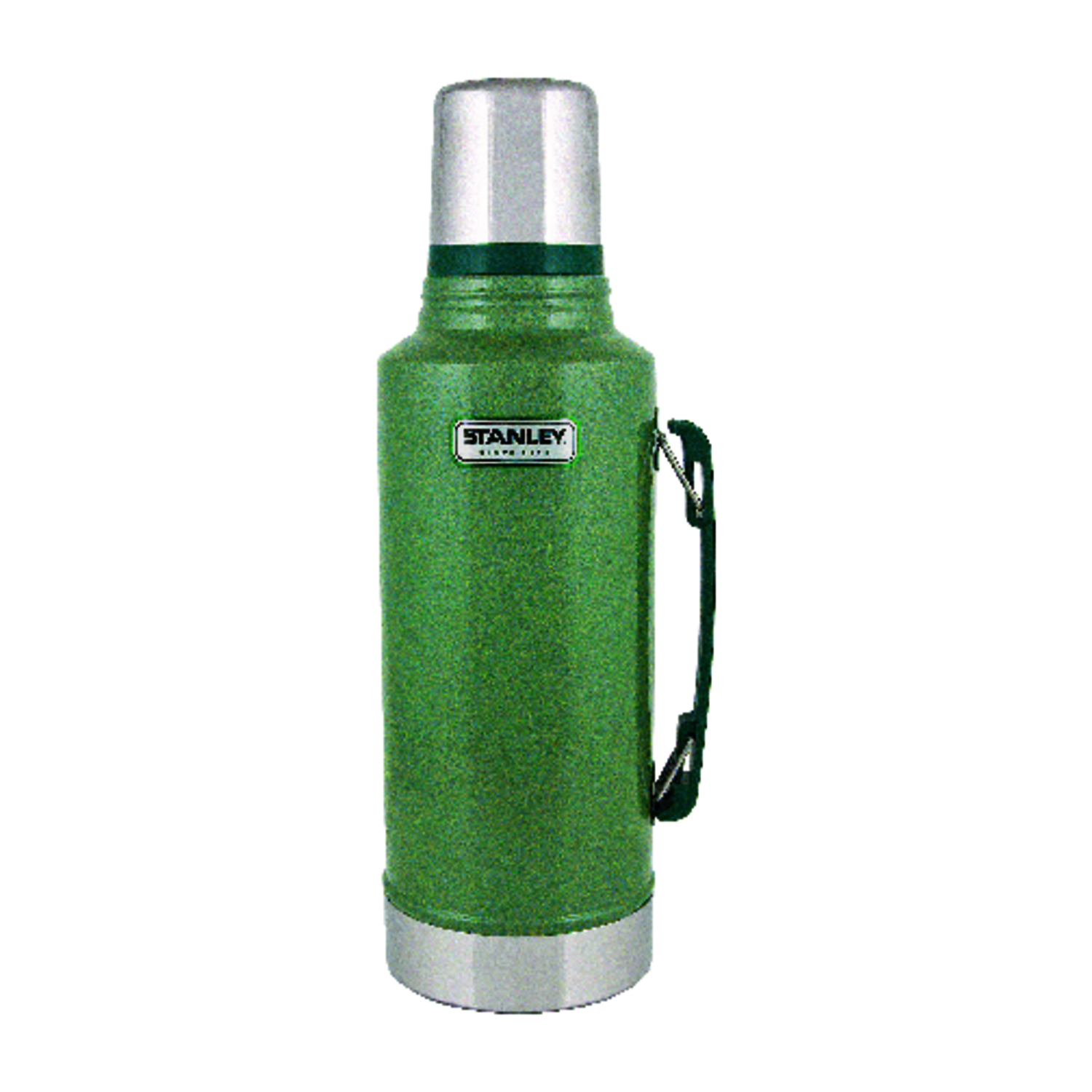Stanley  Hammertone Green  Stainless Steel  Classic  BPA Free 0.5 gal. Water Bottle