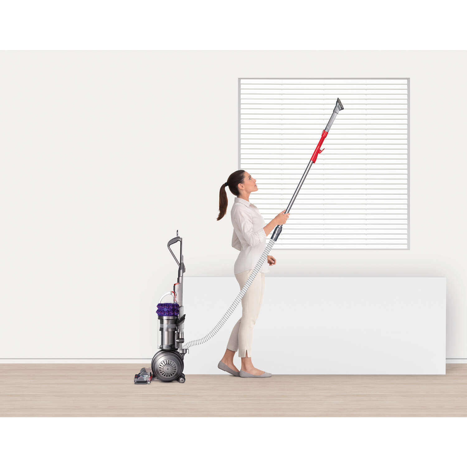 Dyson  Cinetic Big Ball Animal  Bagless  Upright Vacuum  11 amps HEPA  Purple and Silver