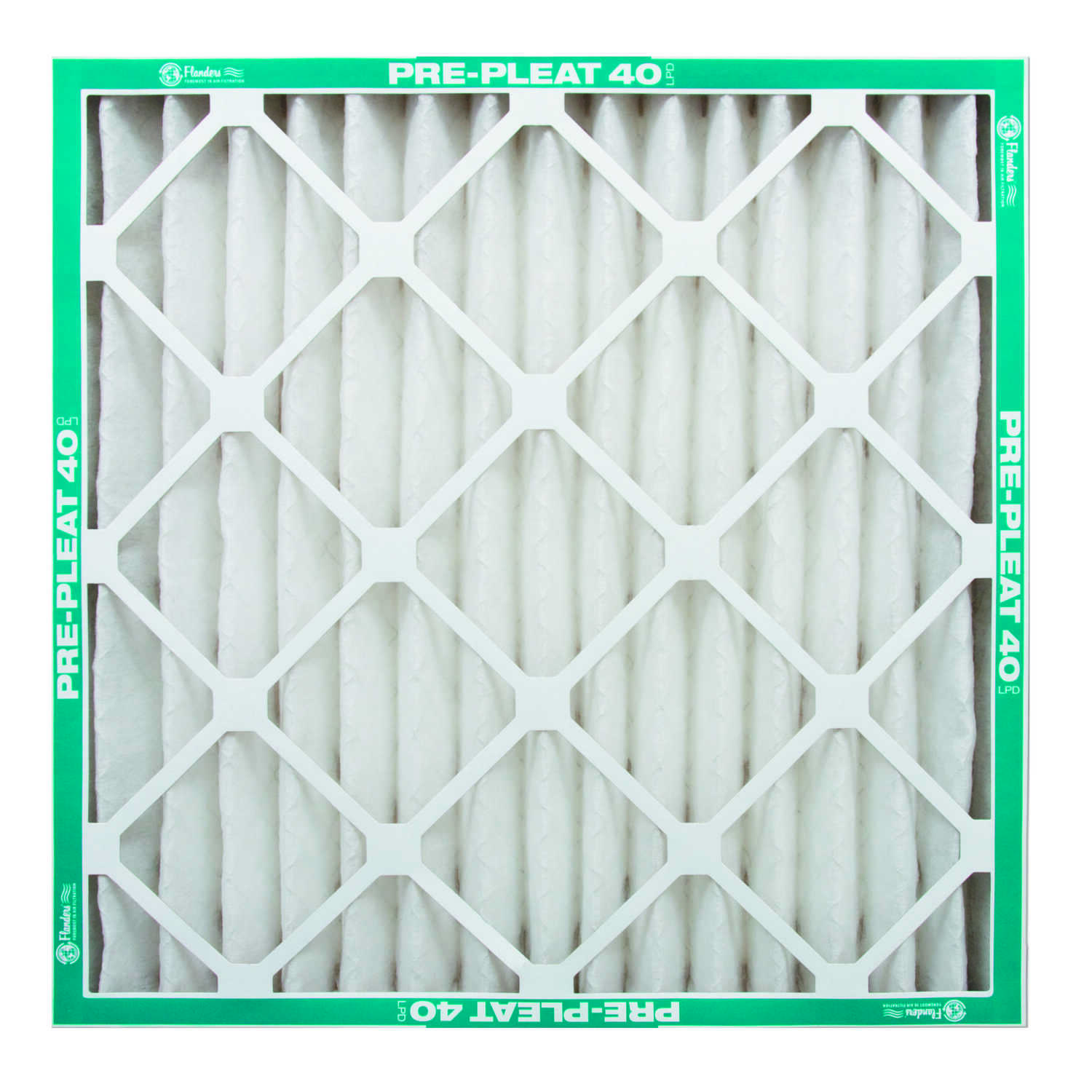 AAF Flanders  25 in. H x 20 in. W x 4 in. D Pleated  Air Filter