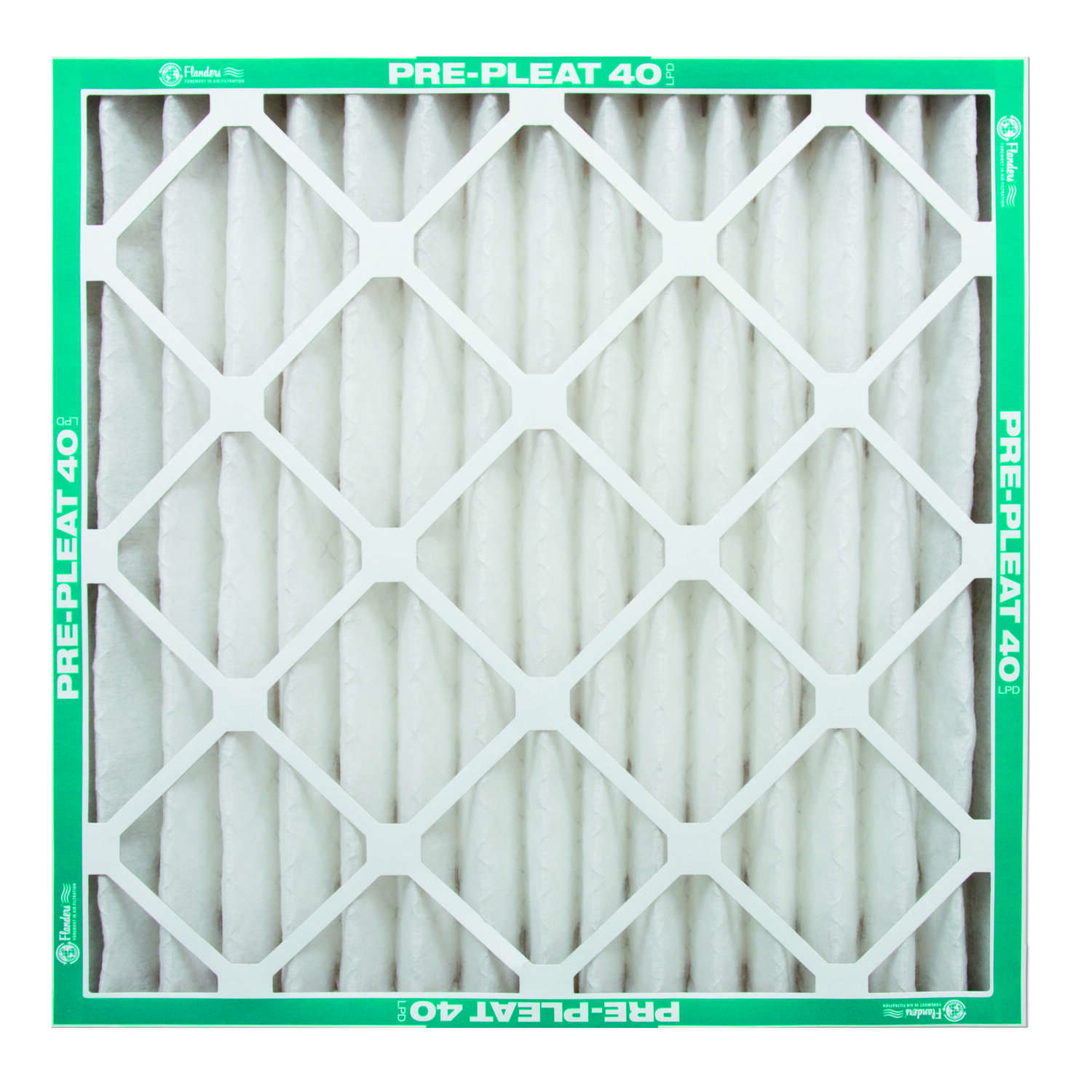 AAF Flanders  PREpleat  20 in. W x 25 in. H x 4 in. D Synthetic  8 MERV Pleated Air Filter