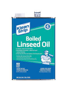 Klean Strip  Transparent  1 gal. Clear  Boiled Linseed Oil
