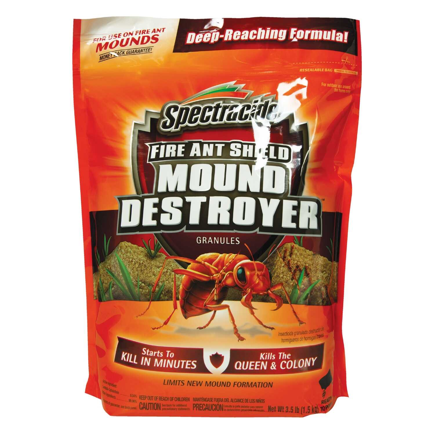 Spectracide  Fire Ant Shield Mound Destroyer  Ant Killer  3.5 lb.