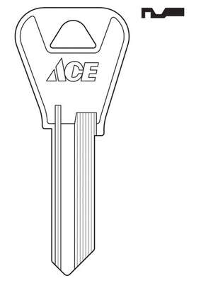 Ace  House  Key Blank  Single sided For Weiser Locks