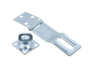 Ace  Zinc  4-1/2 in. L Swivel Staple Safety Hasp