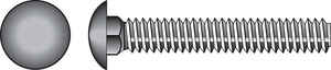 Hillman  3/8 in. Dia. x 3 in. L Zinc-Plated  Steel  Carriage Bolt  50 pk
