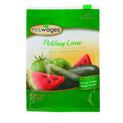 Mrs. Wages  Pickling Lime  16