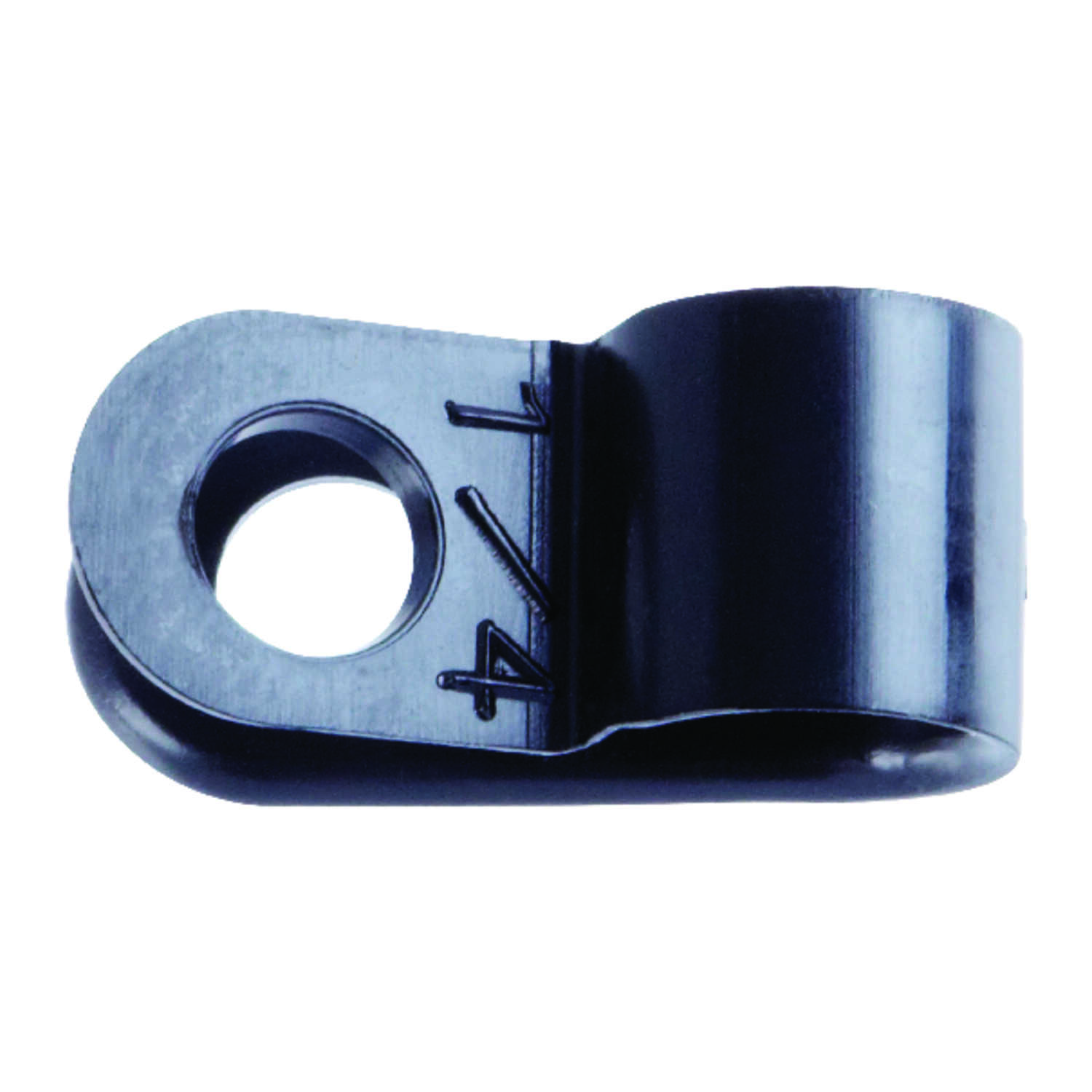 Jandorf  1/4 in. Dia. Nylon  Cable Clamp  5 pk