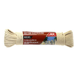 Ace 50 ft. L Cotton Clothesline