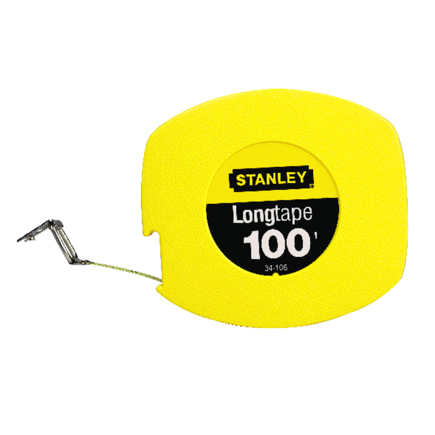 Stanley  100 ft. L x 0.38 in. W Closed Case Long Tape Measure  Yellow  1 pk