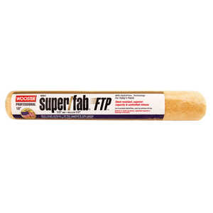 Wooster  Super/Fab FTP  Synthetic Blend  1/2 in.  x 18 in. W Paint Roller Cover  For Semi-Rough Surf