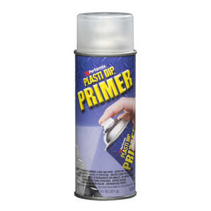 Plasti Dip  Primer  Flat/Matte  Clear  Multi-Purpose Rubber Coating  11 oz