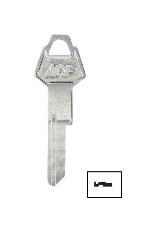 Ace  Automotive  Key Blank  EZ#Y152  Single sided For Chrysler