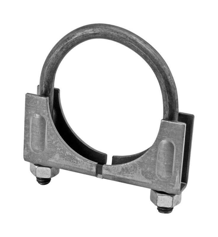 Victor  1-7/8 in. Steel  Muffler Clamp