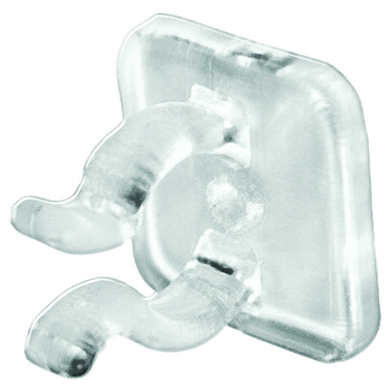Dyno  Mini  Light Clips  Clear  Plastic  25 pk