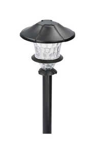 Paradise  Black  Low Voltage  0.3 watts LED  1  Pathway Light