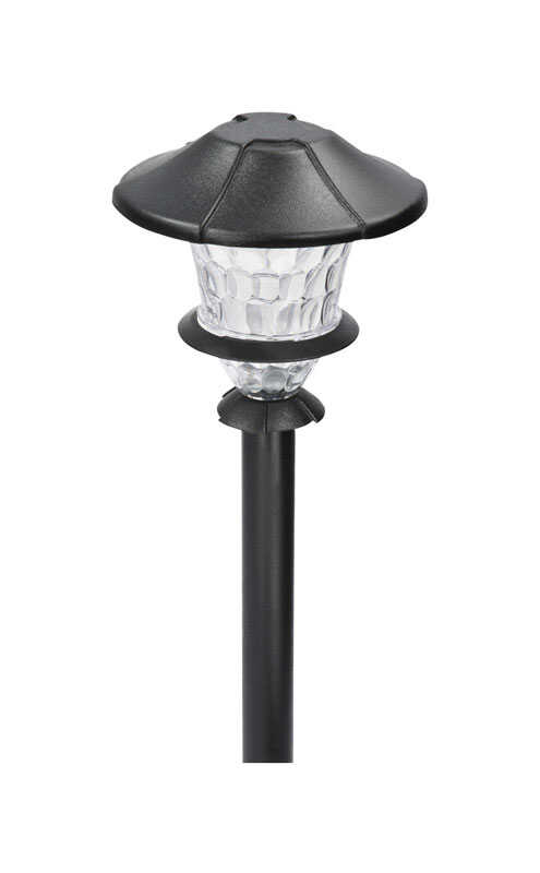 Paradise  Black  Low Voltage  0.3 watts LED  Pathway Light  1 pk