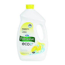 Palmolive  Eco +  Lemon Scent Gel  Dishwasher Detergent  45 oz.