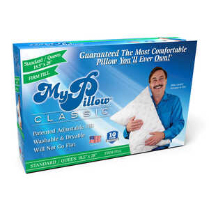 My Pillow  As Seen On TV  Firm Fill Queen  Pillow  Foam/Gel  1 pk
