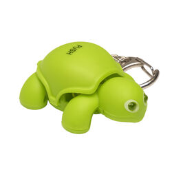 KeyGear  Plastic  Green  Turtle Light  Key Holder