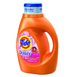 Tide  April Fresh Scent Laundry Detergent  Liquid  46 oz.