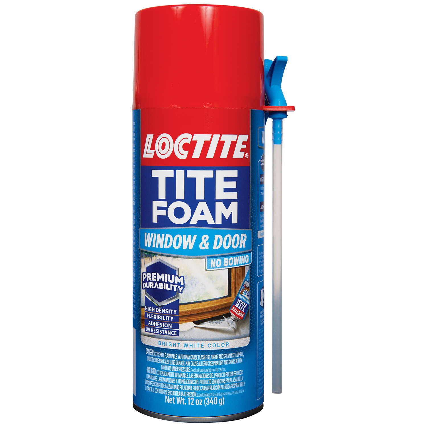 Loctite Tite Foam White Polyurethane Window and Door Foam Sealant 12 oz.