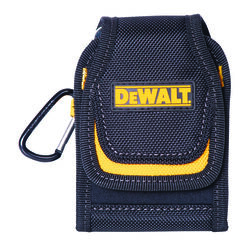 DeWalt 2 pocket Polyester Cell Phone Holder 2.5 in. L x 4.3 in. H Black/Yellow