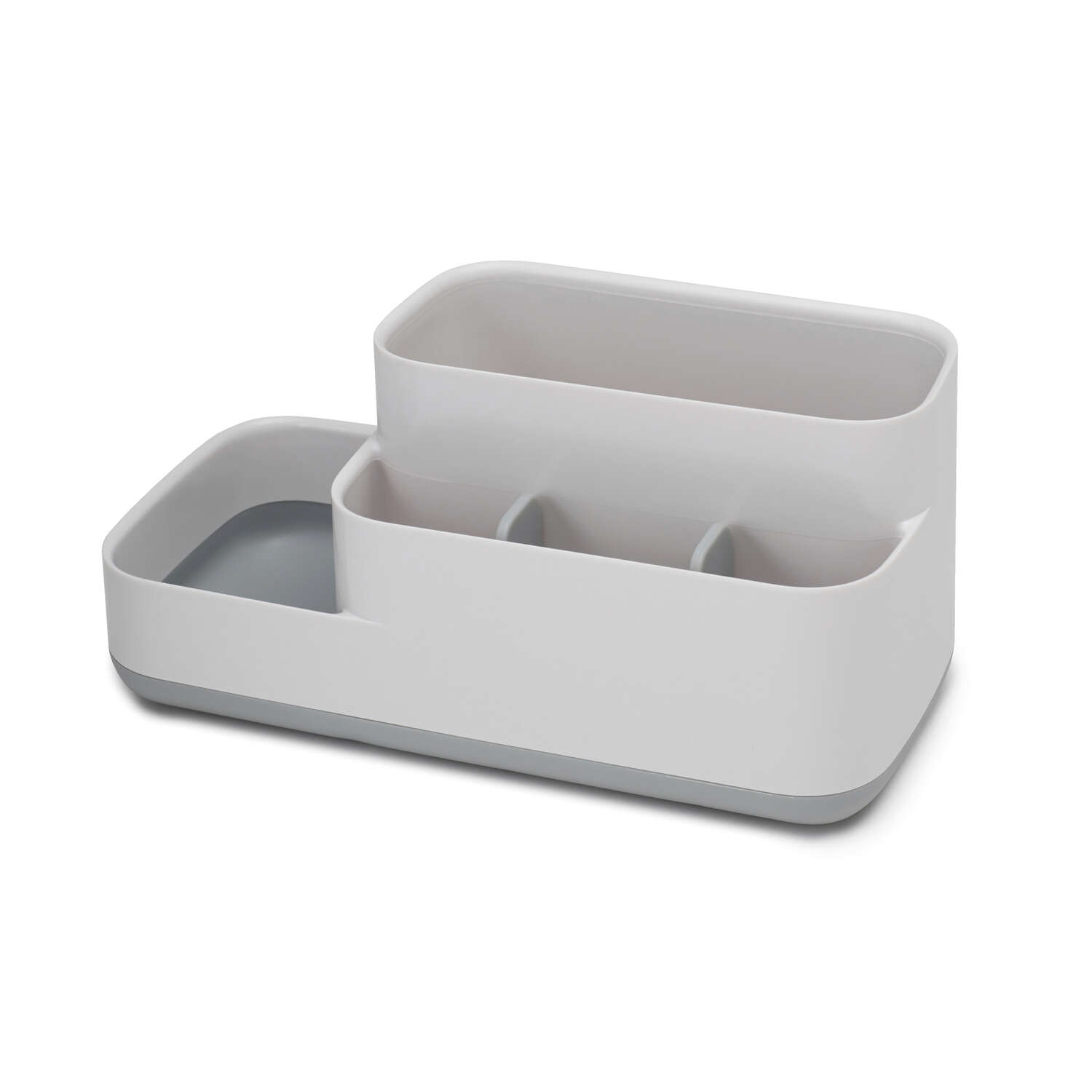 Joseph Joseph  EasyStore  Caddy/Razor/Toothbrush Holder  4-3/4 in. H x 4-1/2 inch  W x 9-3/4 in. L G
