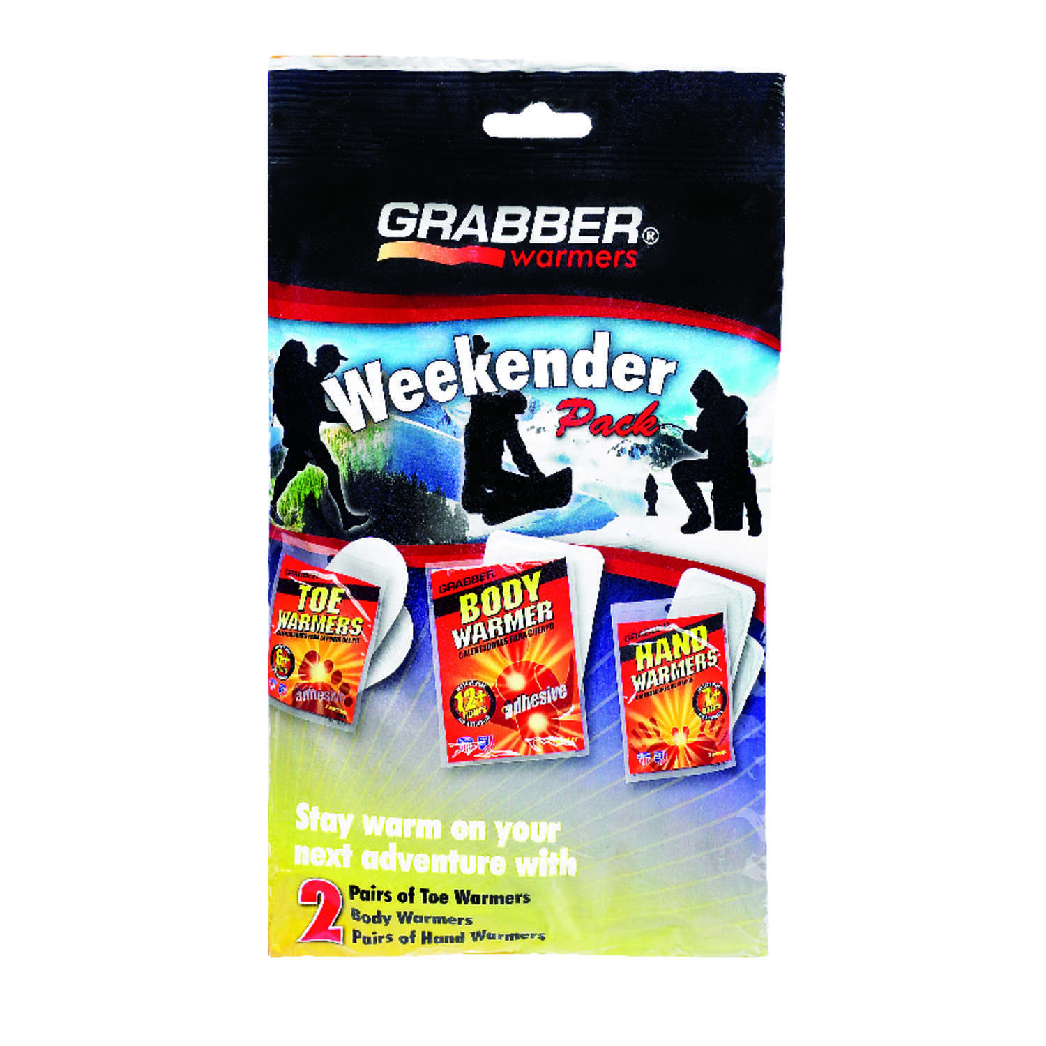 Grabber  Weekender Pack  Hand and Body Warmer Set