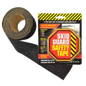 SKID GUARD  Black  Anti-Slip Tape  2 in. W x 8 ft. L 1 pk
