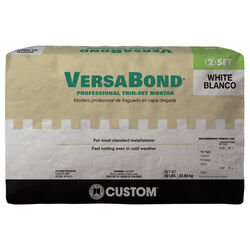 Custom Building Products  VersaBond  White  Thin-Set Mortar  50 lb.