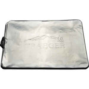 Traeger  Tailgater, Bronson, JR  Aluminum  Drip Tray Liner  1.26 in. H x 12.6 in. W x 19.6 in. L