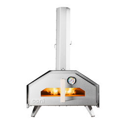 Ooni  Ooni Pro Multi-Fuel Outdoor Pizza Oven  Multi-Fuel  Portable  Pizza Oven  Silver  19 in.
