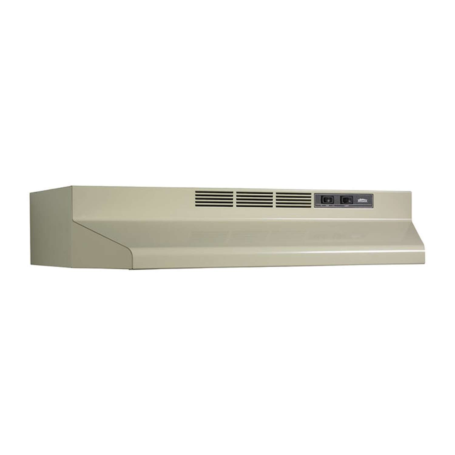 Broan  30 in. W Almond  Range Hood