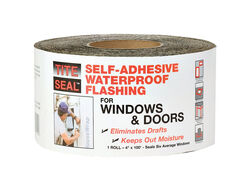 Tite Seal 4 in. W x 100 ft. L Rubber Self-Adhesive Waterproof Flashing Silver