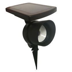 Living Accents  Oil Rubbed Bronze  Solar Powered  LED  Spotlight  1 pk