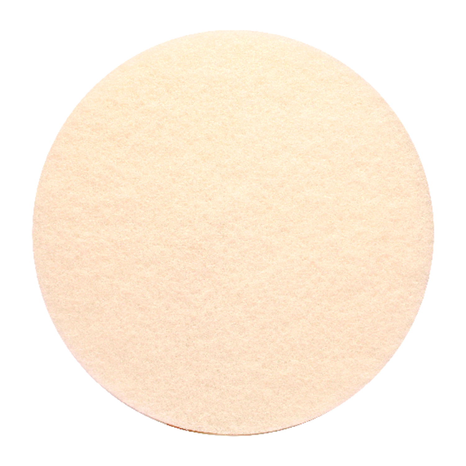 Gator  17 in. Dia. Floor Pad Disc White  White  Non-Woven Natural/Polyester Fiber