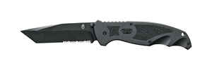 Gerber  Answer FAST  Black  Stainless Steel  7.85 in. Folding Knife
