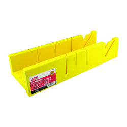 Ace 16 in. L x 4 in. W Plastic Mitre Box Yellow 1 pc.