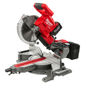 Milwaukee  M18 FUEL  10 in. Cordless  Brushless Dual-Bevel Sliding Compound Miter Saw  Kit 18 volt 9