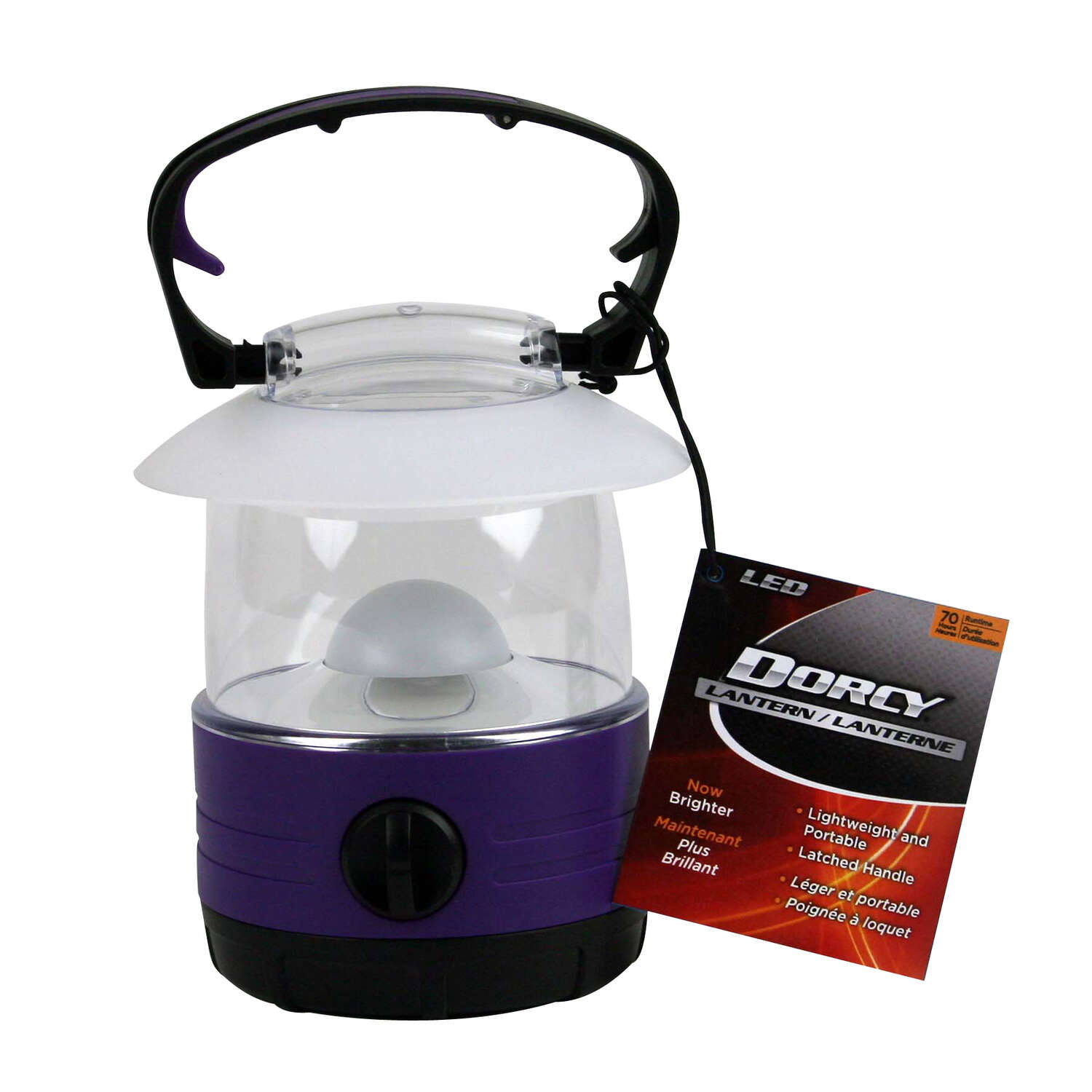 Dorcy  40 lumens Assorted  LED  Camping Lantern