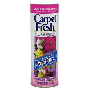 Carpet Fresh  Country Potpourri Scent Carpet Odor Eliminator  14 oz. Powder