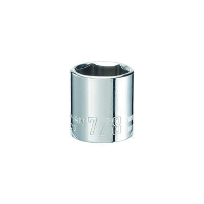 Craftsman  7/8 in.  x 3/8 in. drive  SAE  6 Point Standard  Deep Socket  1 pc.