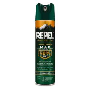 Repel  Sportsmen Max  Insect Repellent  Liquid  For Chiggers, Biting Flies, Ticks, Gnats, Fleas, Chi