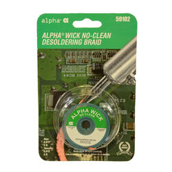 Alpha No-Clean Desoldering Braid Copper 1 pc.